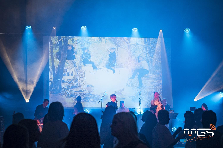 Robe spiider en action pour mettre en lumière vos concerts