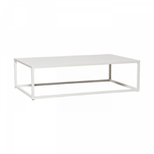 Table basse double blanche