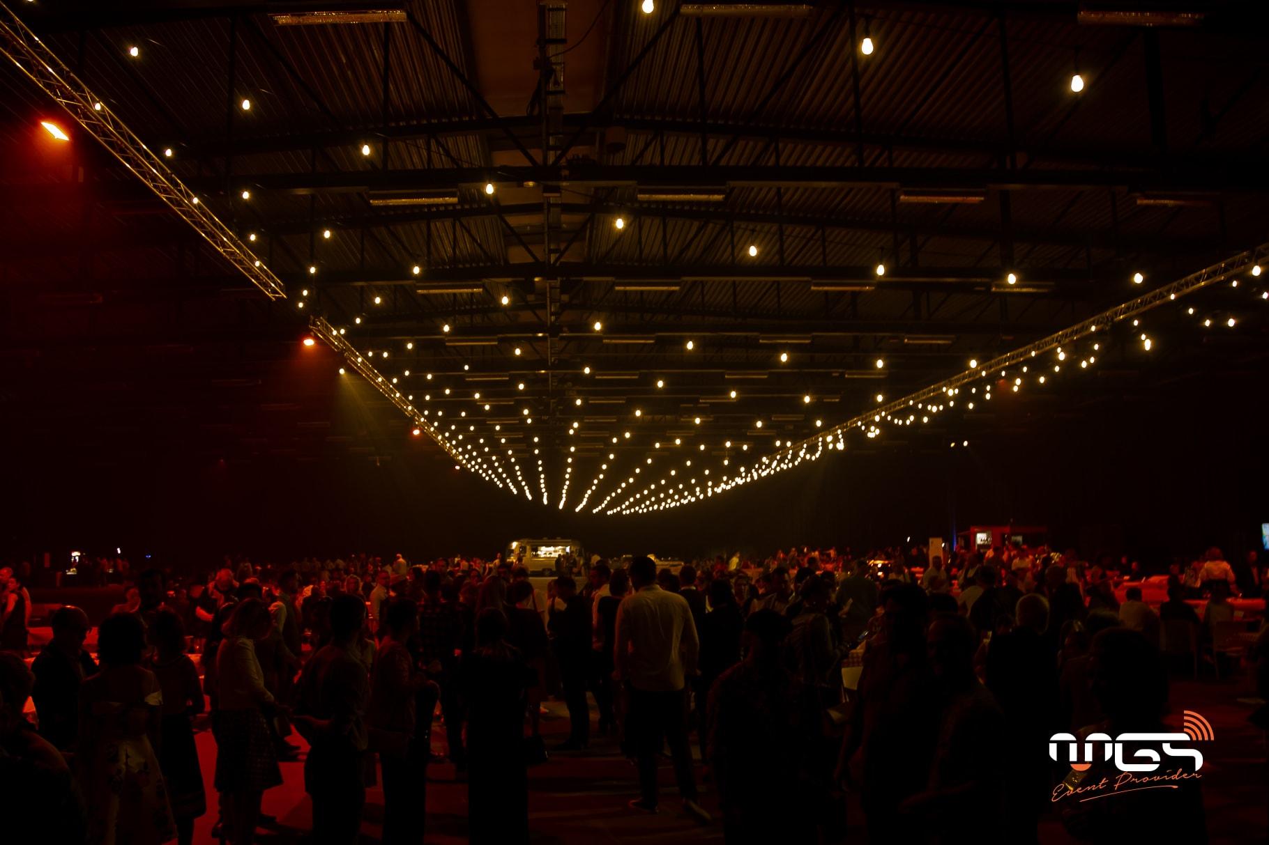 Mise en lumière et sonorisation de l'événement du CHU Godinne à Ciney Expo